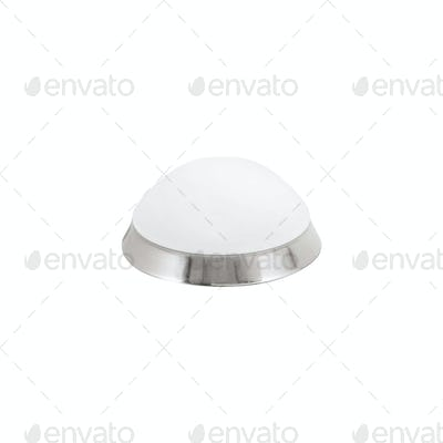 A round lamp isolated