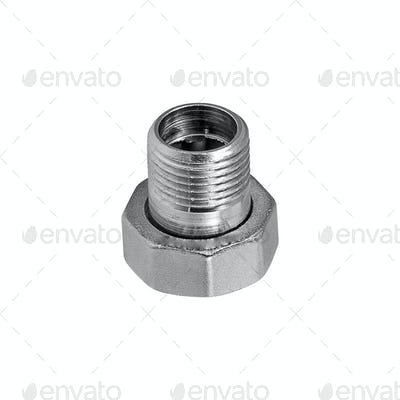 screw isolated on the white