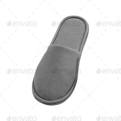 slipper on a white background