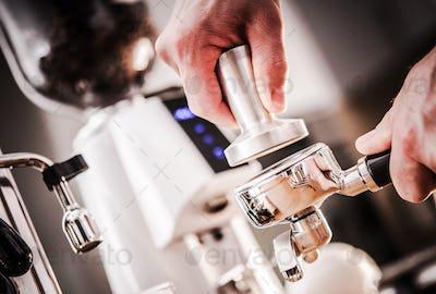 Fresh Espresso Making