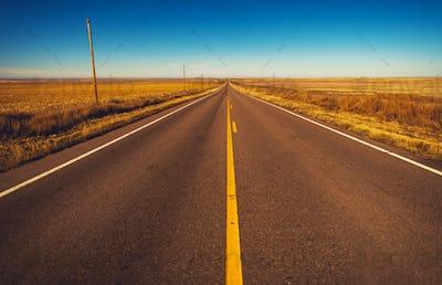Colorado Plains Highway