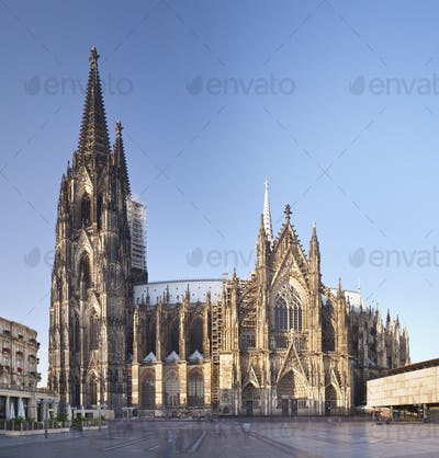 Cologne Cathedral At Day, Germany
