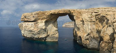 Azure Window Panorama, Malta