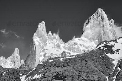 Fitz Roy Mountain Range, Argentina.