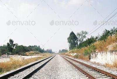 Rail road guding to new destination
