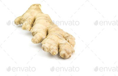 ginger root isolated