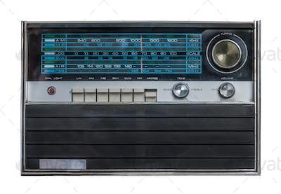 Retro Isolated Radio