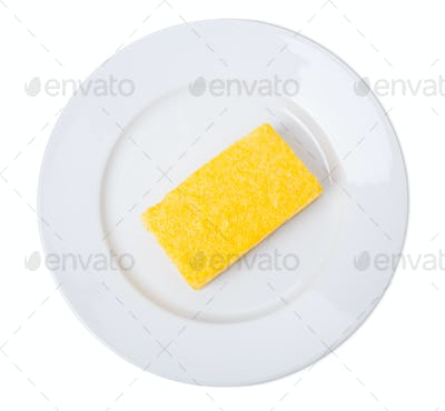 Traditional maize polenta.
