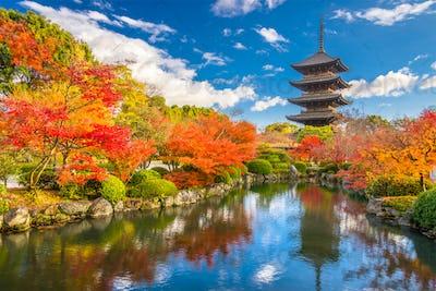 Toji Pagoda Kyoto