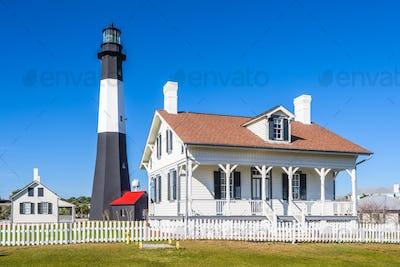 Tybe Island Light House