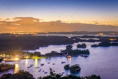 Matsushima, Japan Landscape
