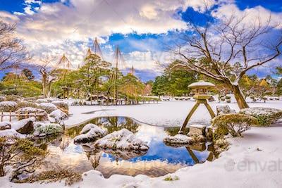 Kanazawa, Japan Winter Gardens