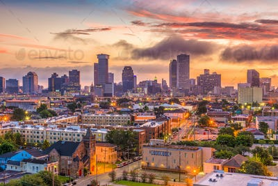 New Orleans Louisana Skyline