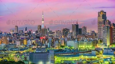 Tokyo Japan Cityscape