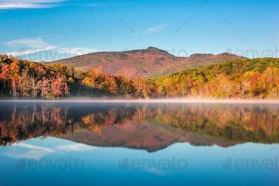 Grandfather Mountain in Fall