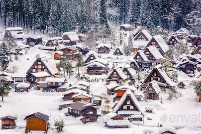 Japanese Winter Village
