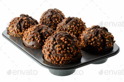 Dark chocolate muffins