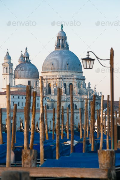 Early morning above the Santa Maria della Salute