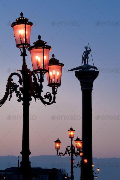 Morning at San Marco square