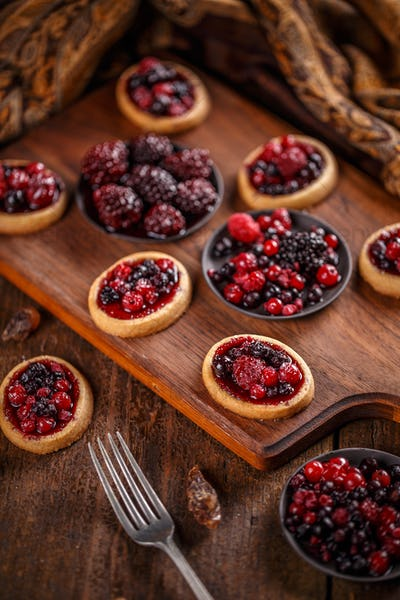 Delicious homemade tartlets