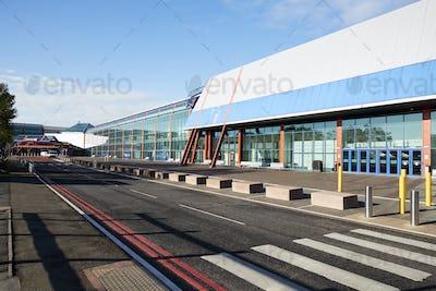 Birmingham, UK - 6 November 2016: Exterior Of The Birmingham National Exhibition Centre NEC