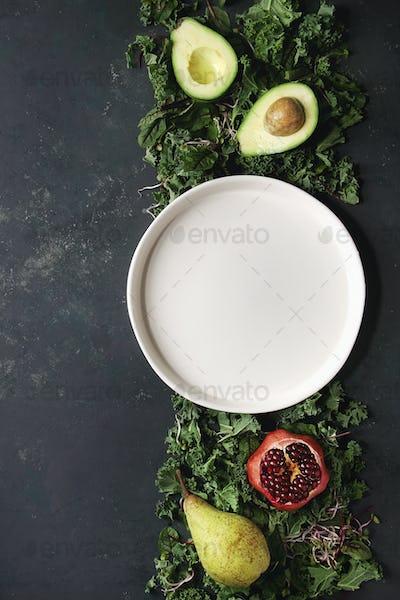 Green salad mix