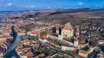 Biertan fortified church in Transylvania, Romania.