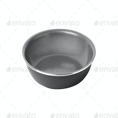 empty piala isolated on white