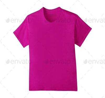 Purple T-Shirt isolated
