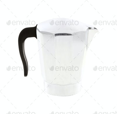 kettle isolated on white background