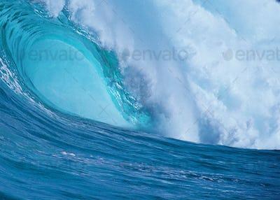 Big Blue Ocean Wave