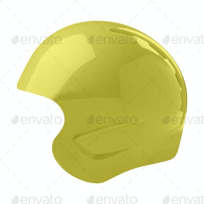 helmet isolated on white