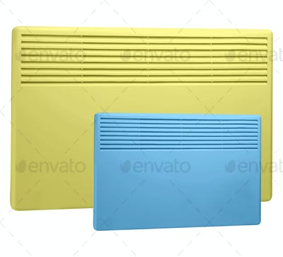 Heater isolated on a white background.