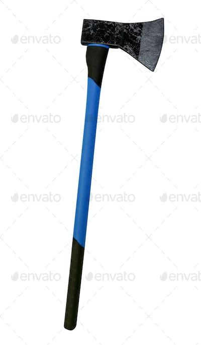 Axe with Fibreglass Handle