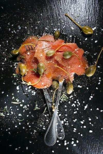 Salmon based dish