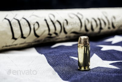 Constitution and bullet