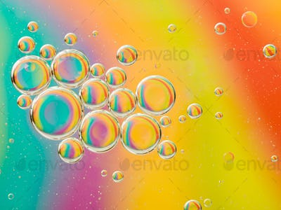 interesting colorful abstract background