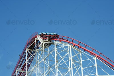 Metal roller coaster