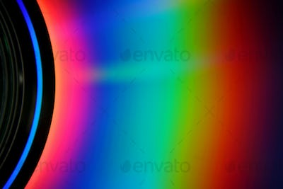 CD Rainbow Background