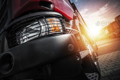 Euro Semi Truck Driving