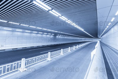 blue city tunnel
