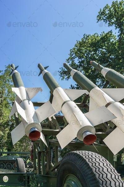 anti-aircraft missiles