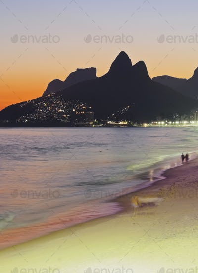 Ipanema Beach in Rio de Janeiro
