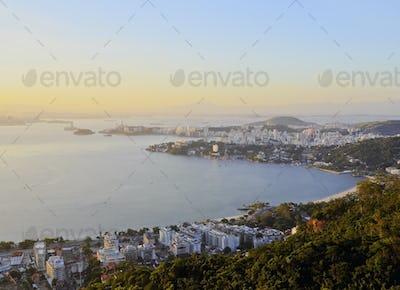 View from Parque da Cidade in Niteroi