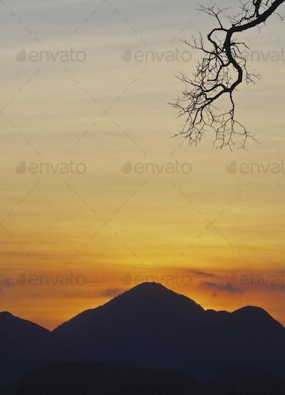 Mountains near Petropolis, Brazil