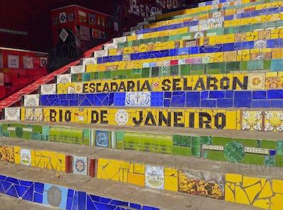 Selaron Steps in Rio