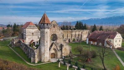 Carta Monastery former Cistercian (Benedictine) religious architecture in Transylvania