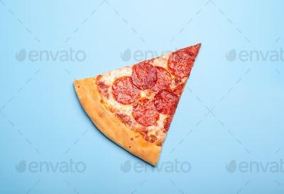 Slice of Delicious Pizza Pepperoni