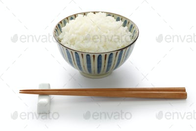 gohan, japanese cooked white rice