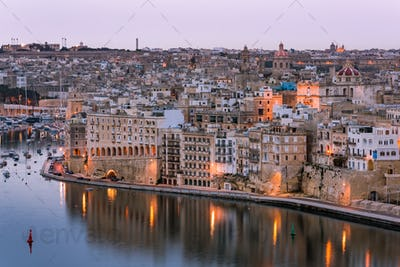 Senglea and Grand Harbor,Malta